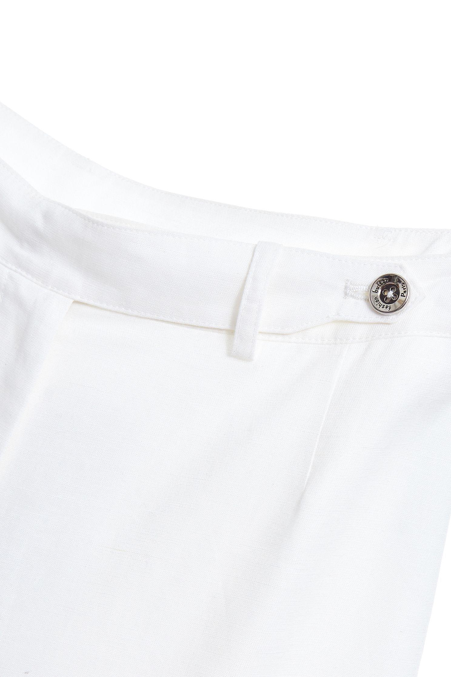 Lace stitching popular culottes,Culottes Pants,白色褲子,白色長褲,Lace,Pants,長褲,Was thin