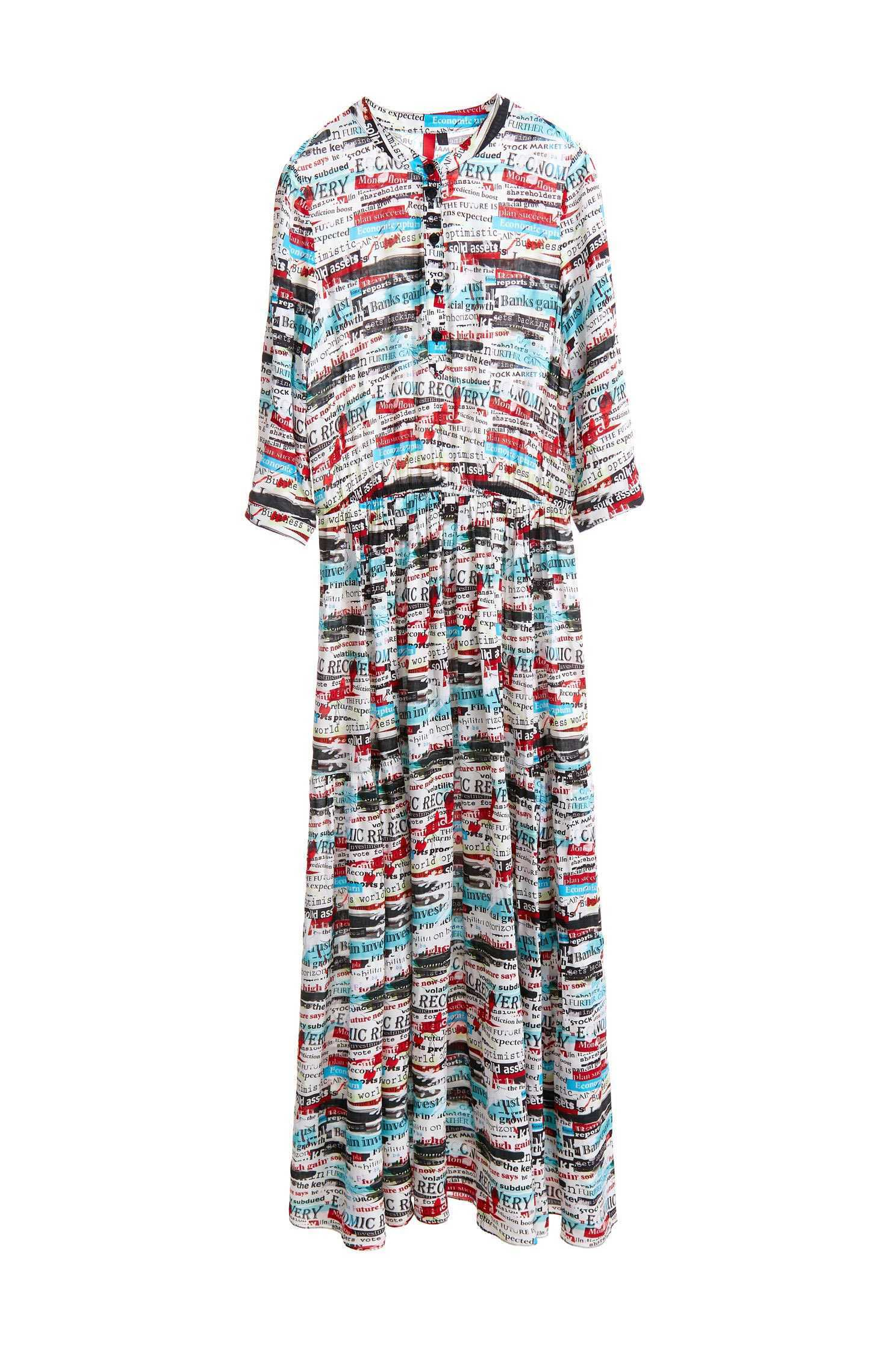 Painted exotic dress,dress,casualdress,printeddress,longdress,longsleevedress