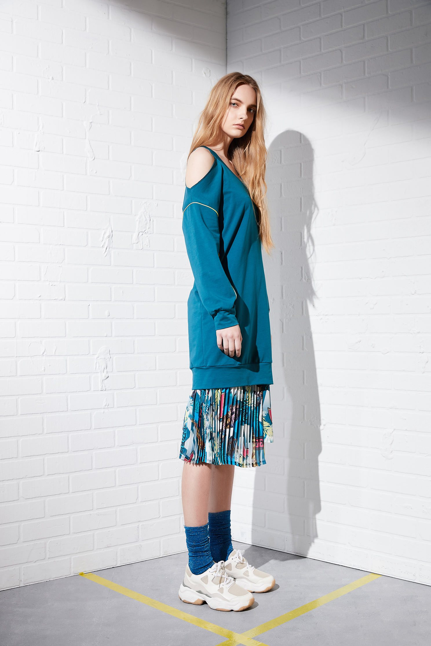 Knitting fashion dress