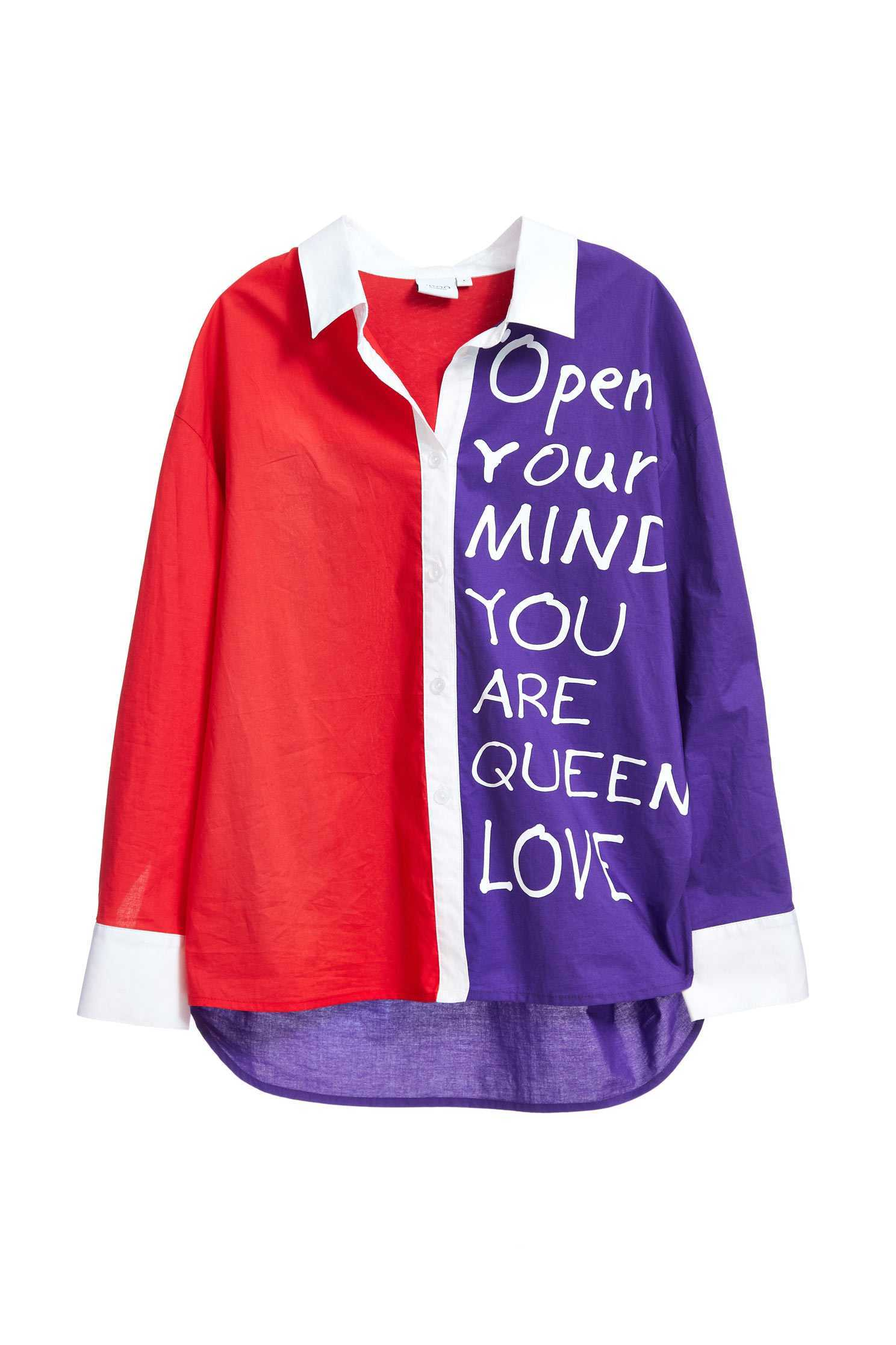 Casual Contrast Color long sleeve shirt,top,cotton,blouse,longsleevetop