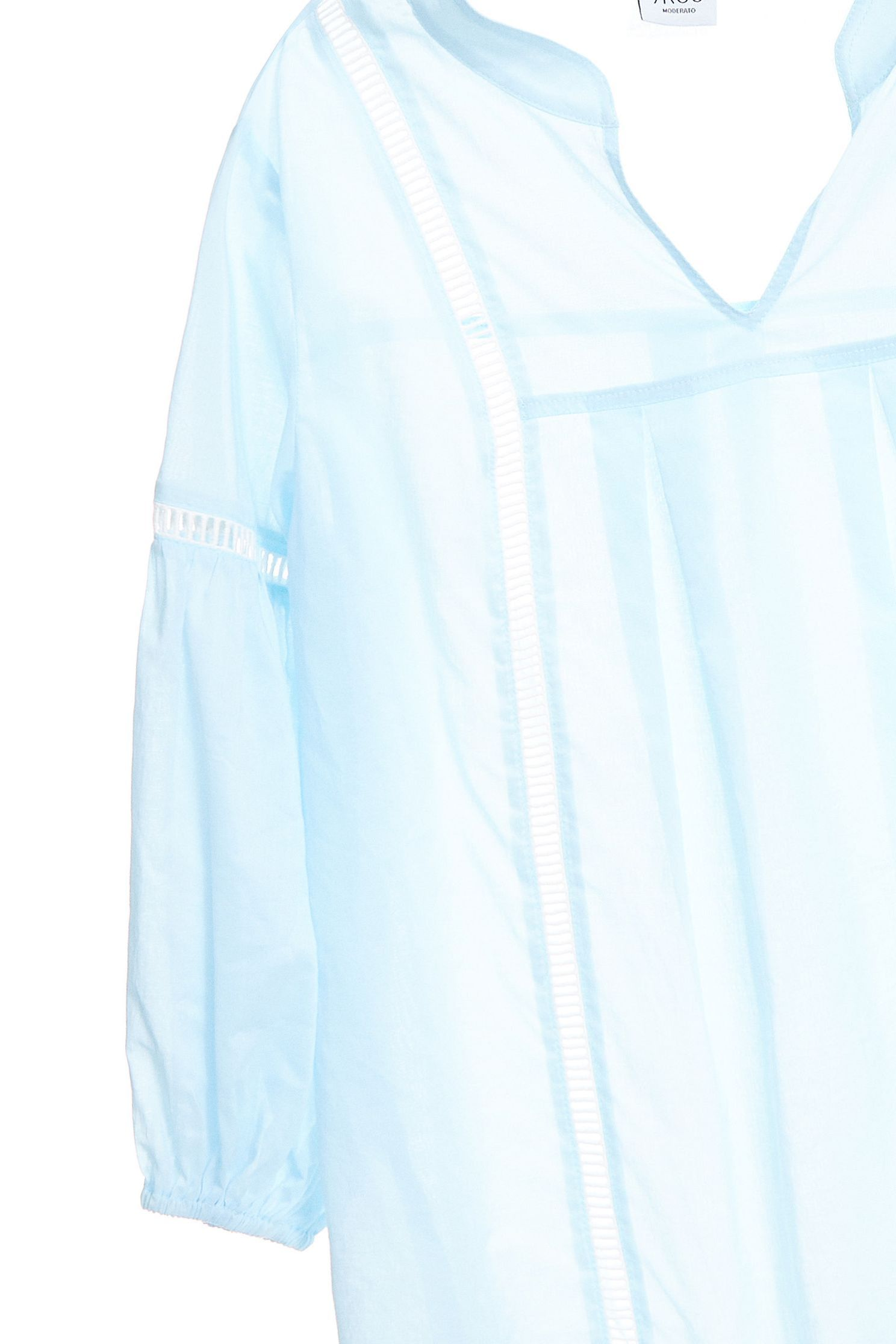 Ethnic style fashion tops,v-necktop,top,cotton,longtop,longsleevetop