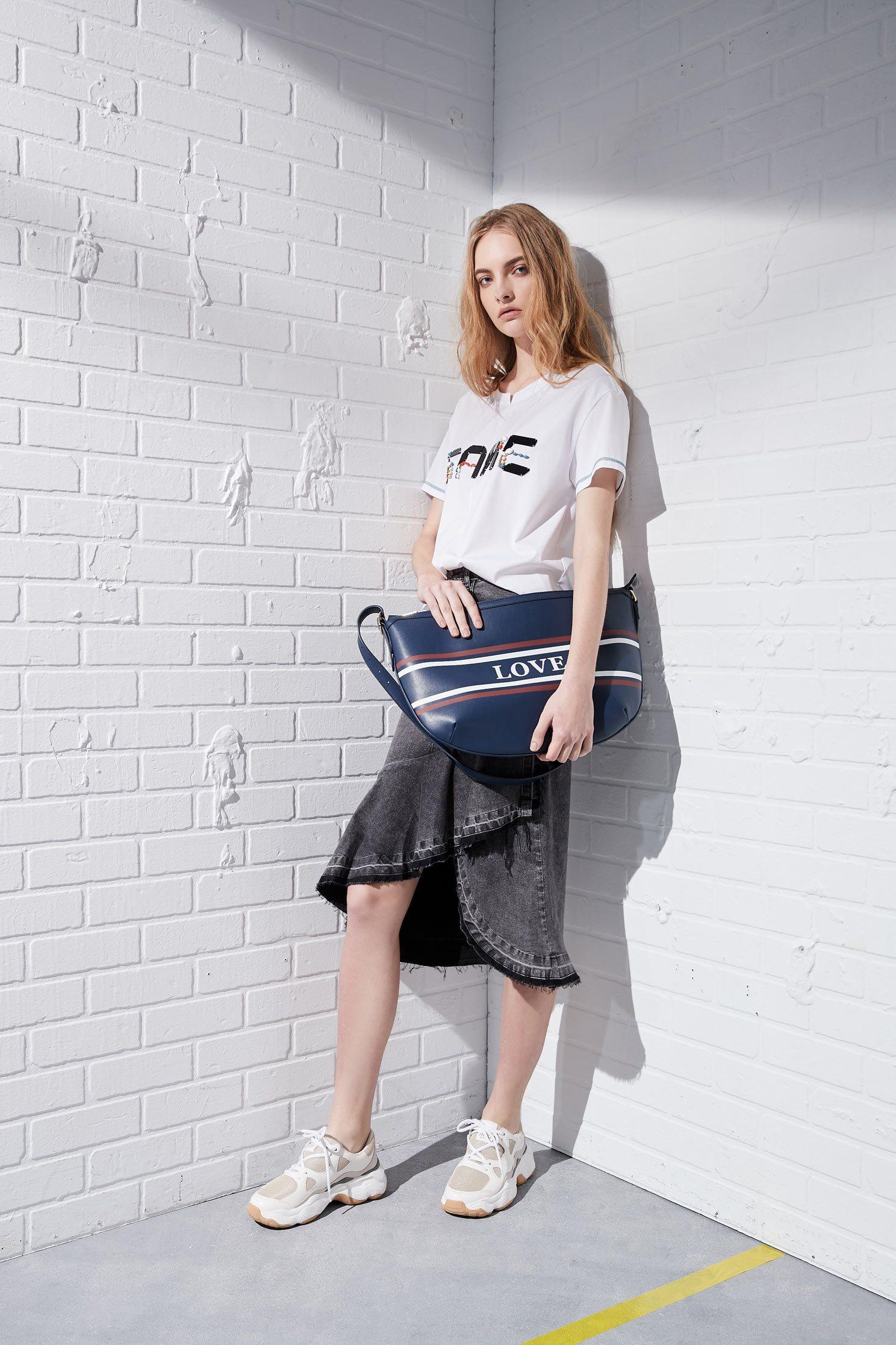 LOVE Large hobo bag,slingbag,firesigns,shoulderbag