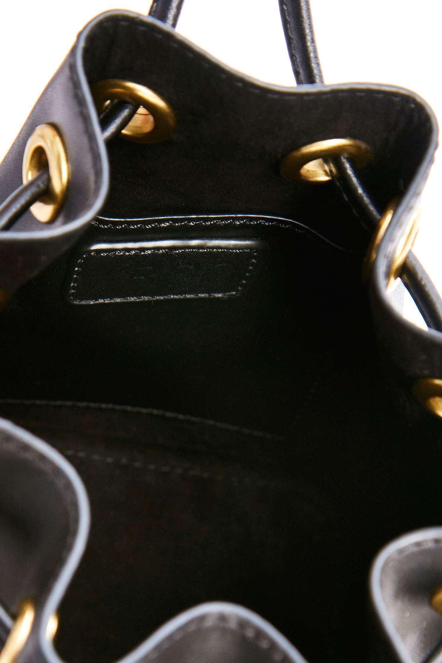 Texture bucket bag,i-select