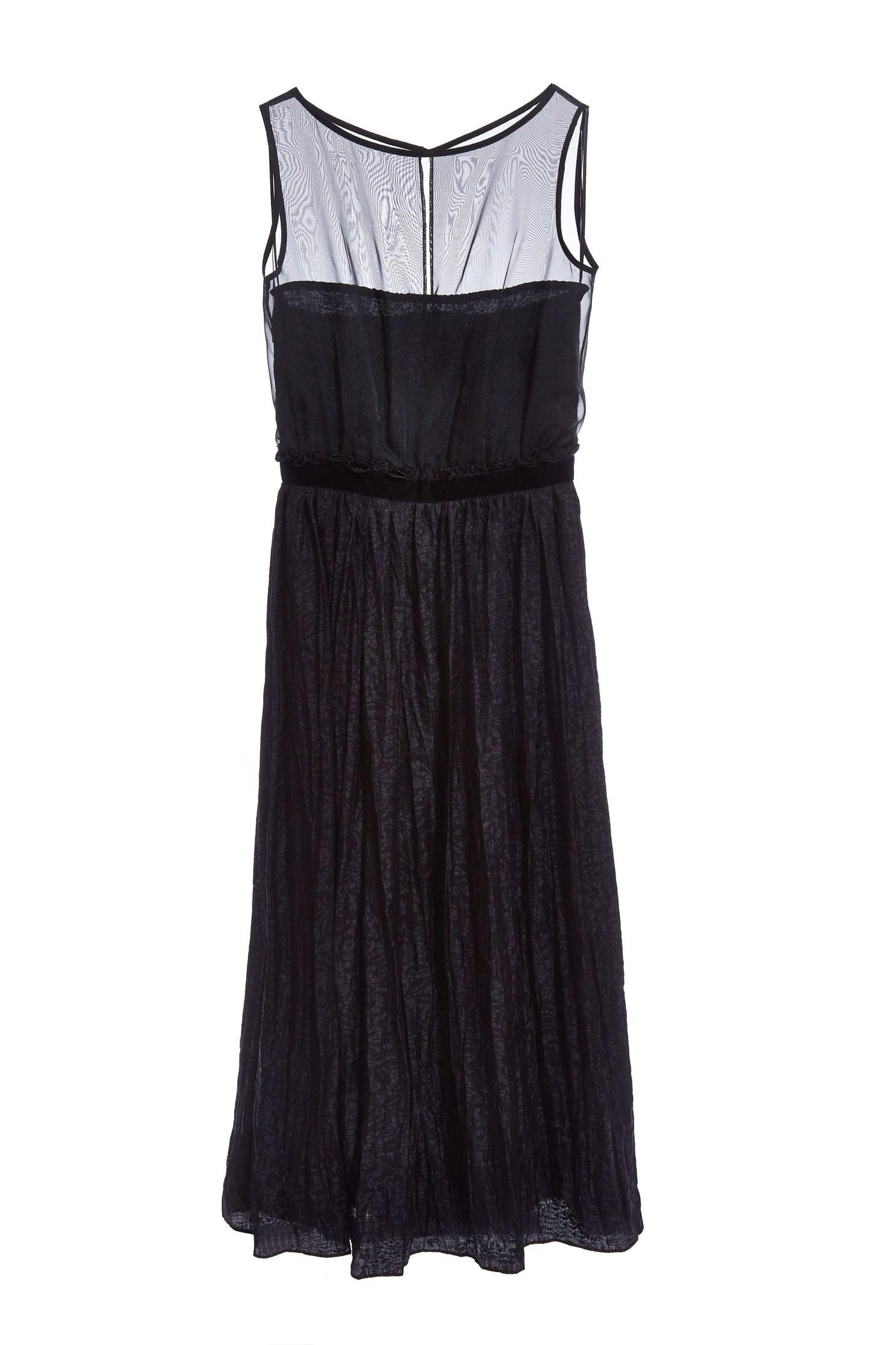 Romantic see-through  lace dress,Cocktail Dress,無袖洋裝,Evening Wear,透膚洋裝,Chiffon,Chiffon Dress,Black dress