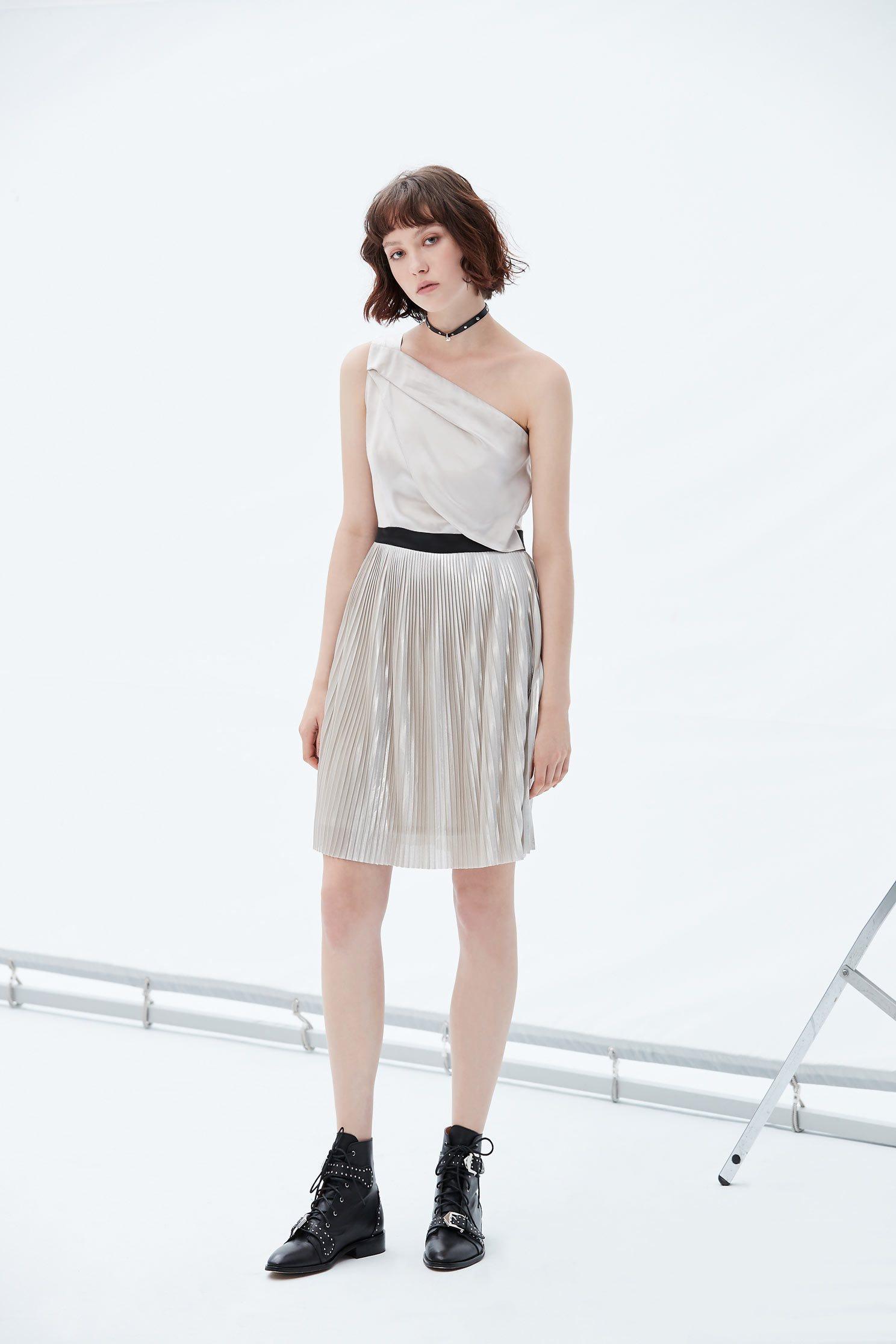 Satin gorgeous dress