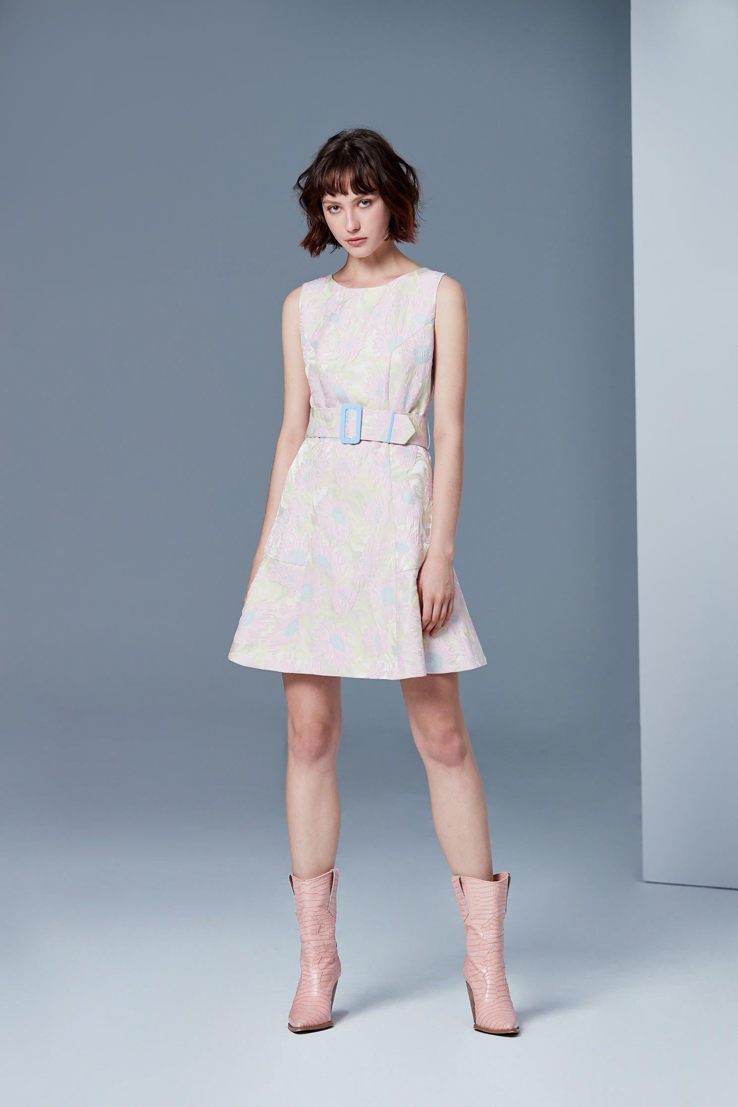Floral gorgeous dress
