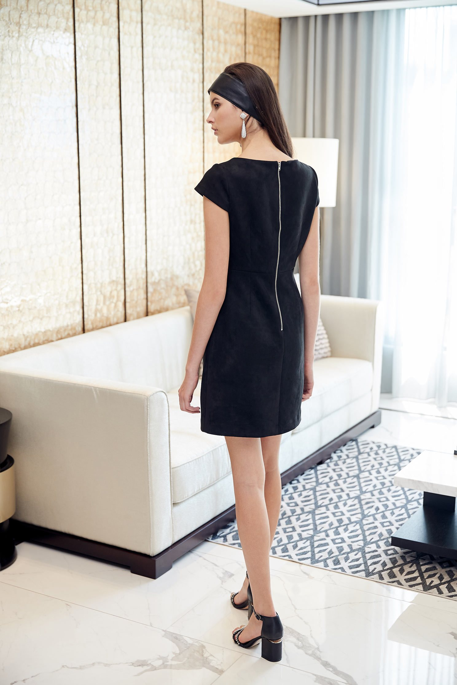 beauty gorgeous dress,shortsleevedress,blackdress