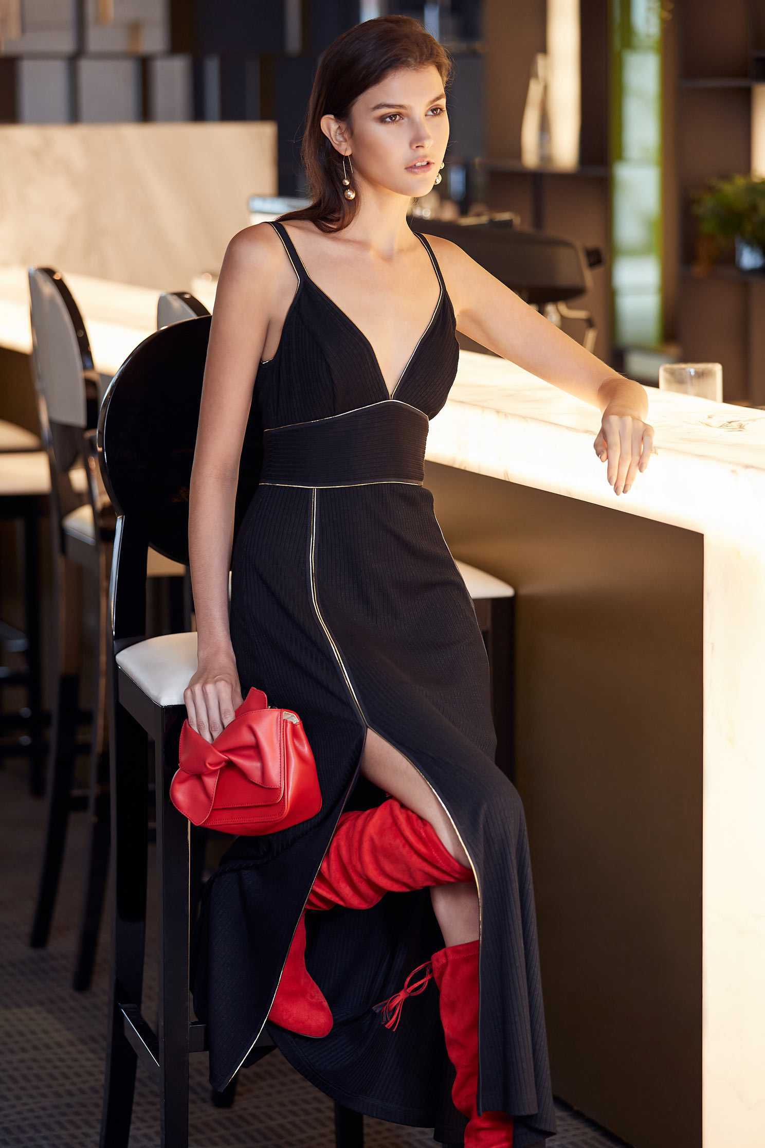 Sexy spaghetti strap dress