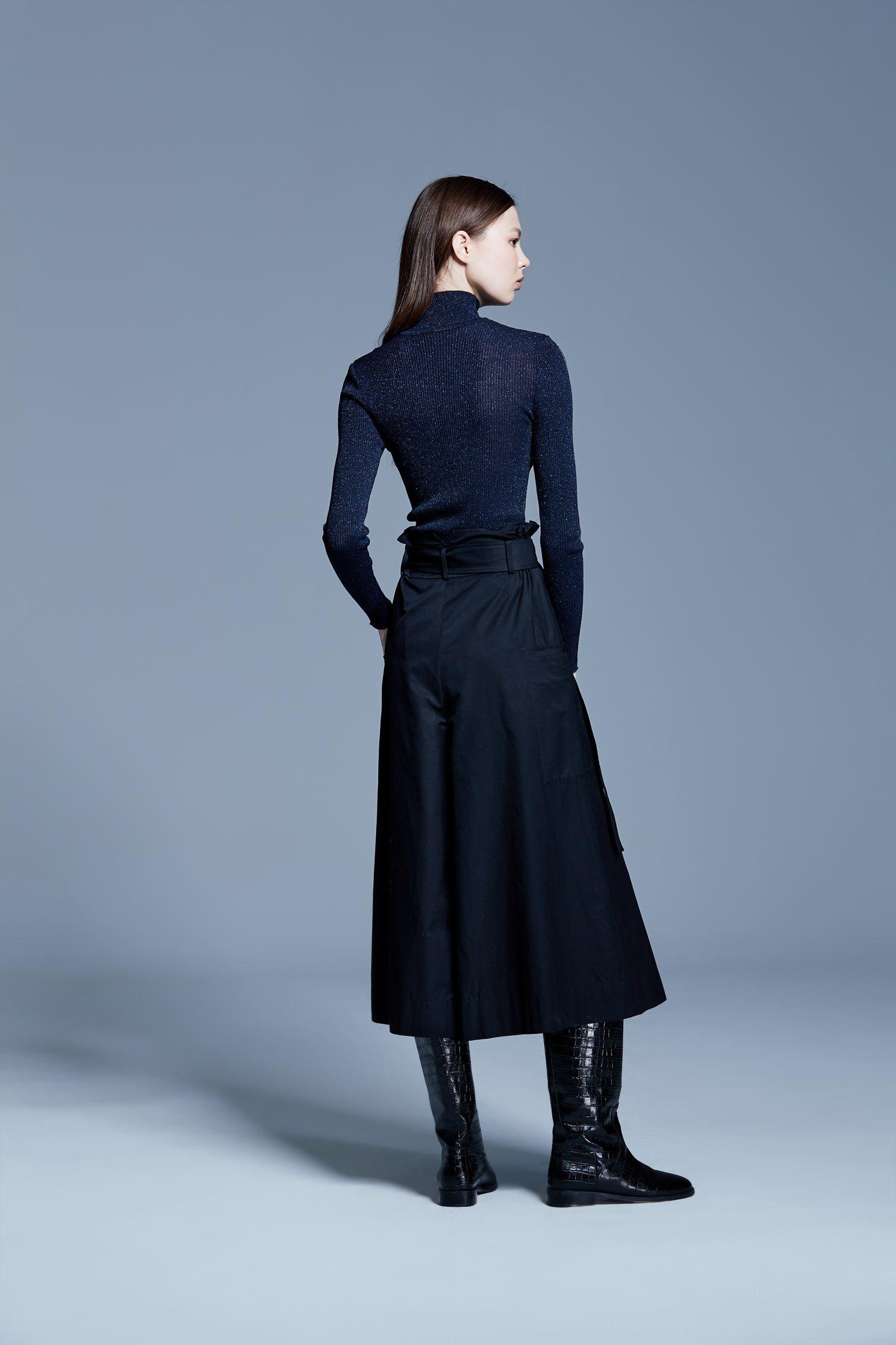Classic Fashion Wide Trouser,culottespants,pants,culottes,pants,wasthin,blackpants,blacktrousers