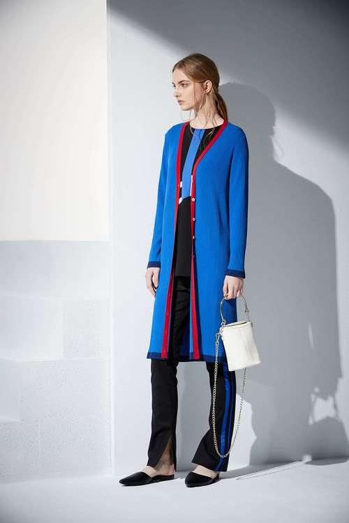 Knitting design coat