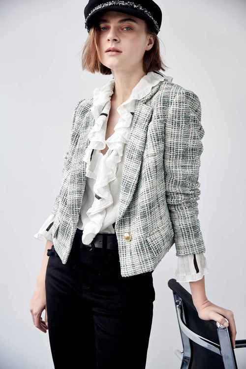 Tweed blazer