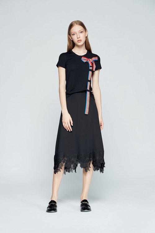 Lace fashion skirt