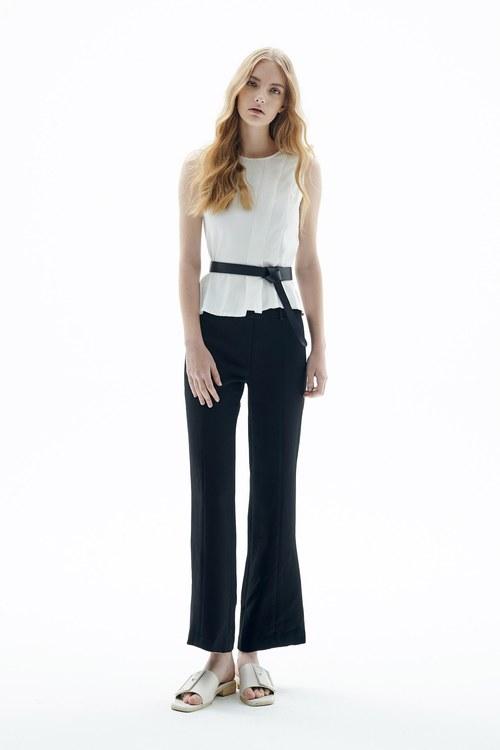Slim fit slim trousers