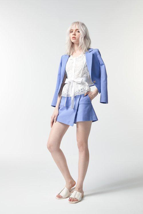 Sky blue Culottes