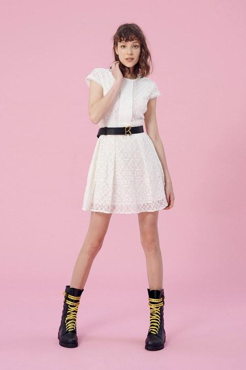 Round collar lace dress.,dress,chiffon,dress,longdress,dress,embroidery,cocktaildress,lace,lacedress