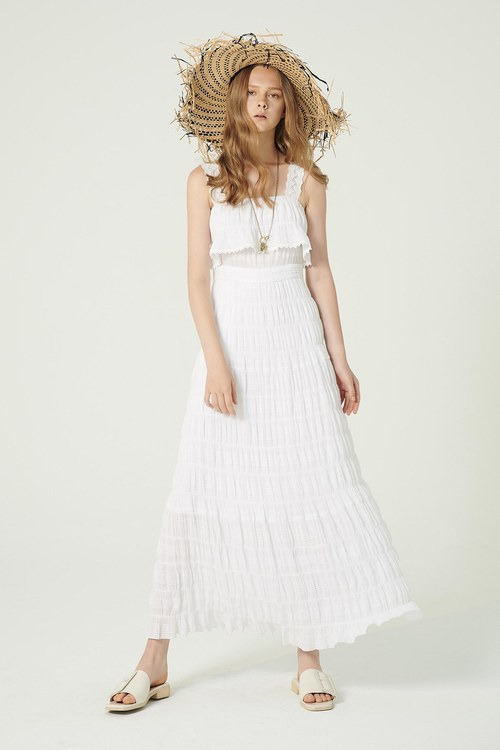 Goddess! Summer must-have lace long dress