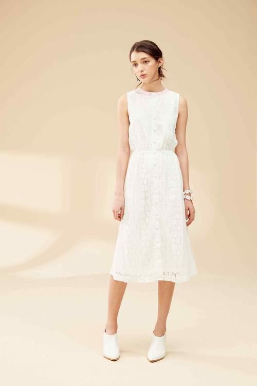 Full lace classic dress