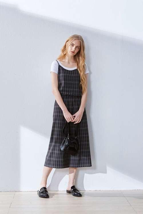 Plaid classic dress