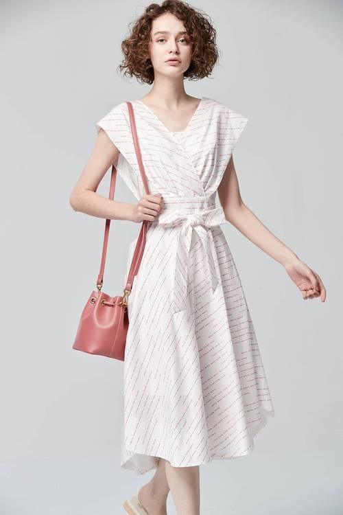 Letter print dress