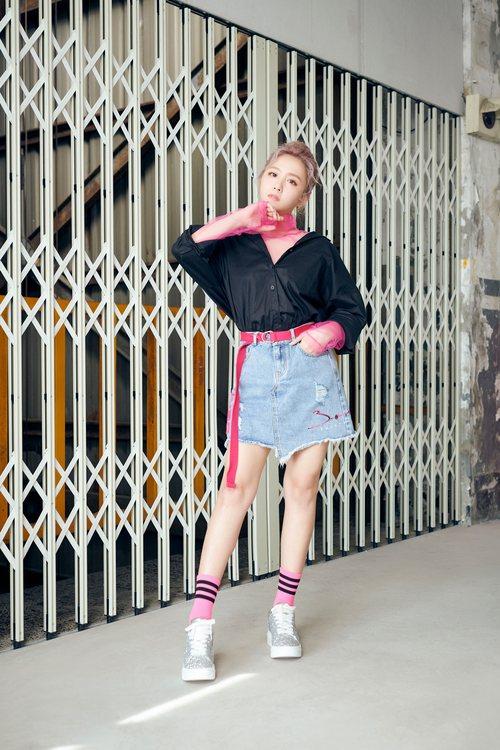 iRoo x 3.one Oversized shirts(pink)