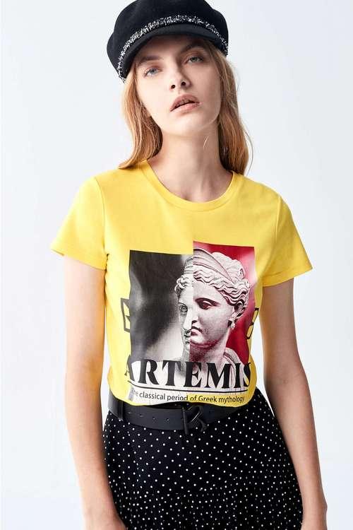 Vinas print T-shirt.