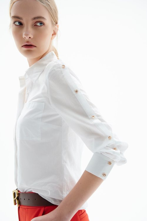 SHIRT WITH VENTS