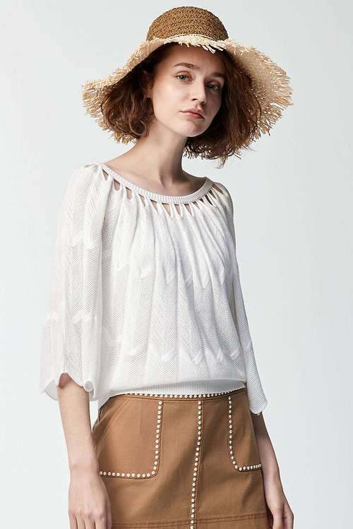 Cave Knitted Top