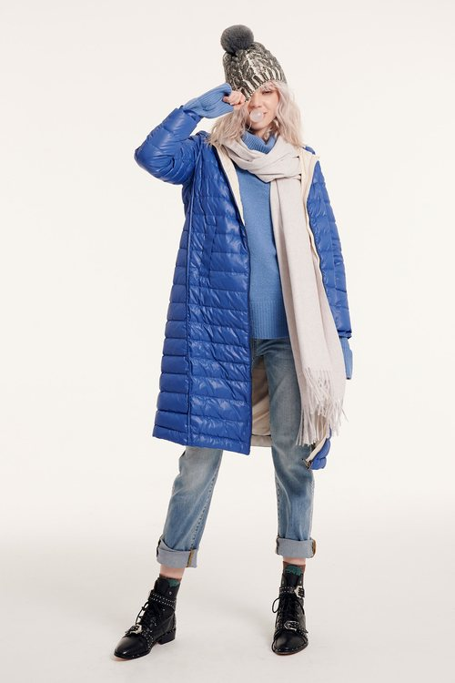 Classic Hooded Puffer Jacket with hood