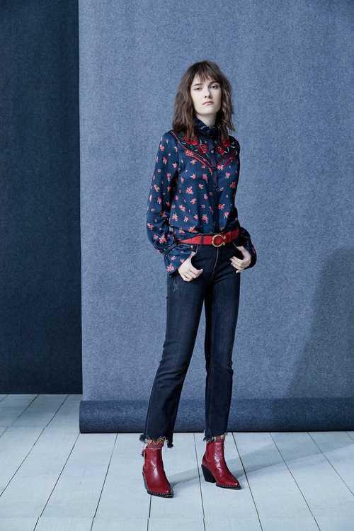 Fashion vintage jeans