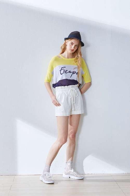 Flower drawstring popular shorts