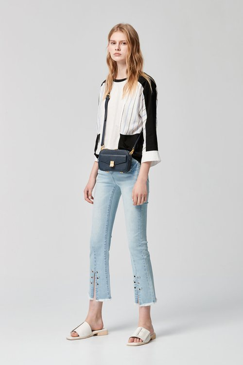 WASH flared jeans