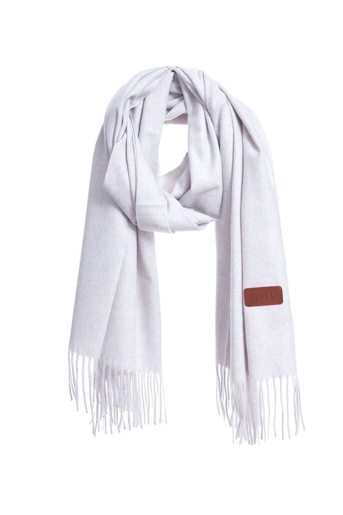 Skin-friendly mixed-color scarf
