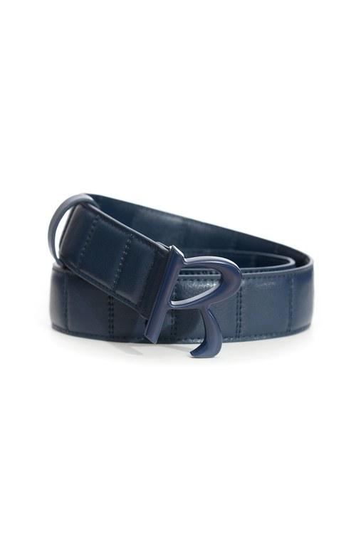 Classic R-shaped wide belt