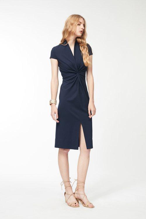 Simple folded siain dress,cocktaildress,eveningwear,pencilskirt,dress,restock,dress,restock
