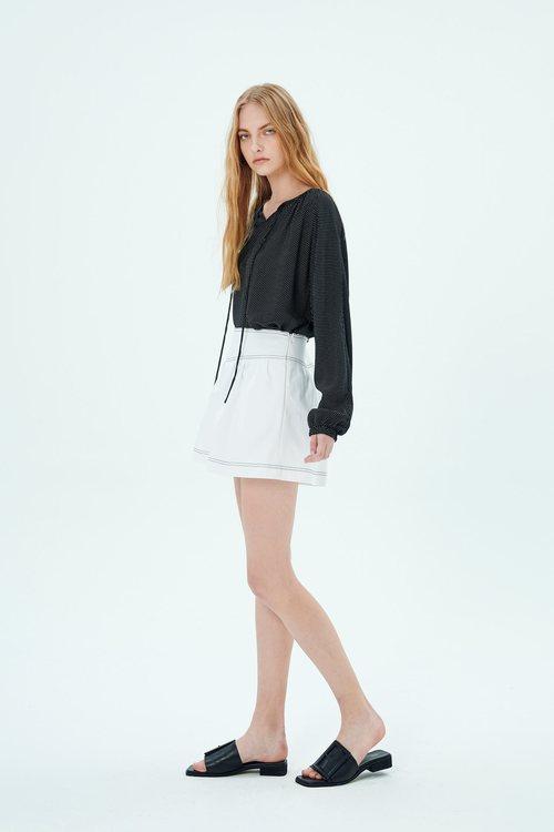 Jumper press shorts skirt