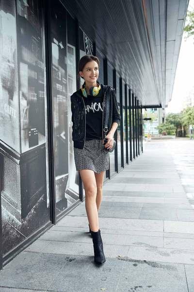 Modern sequined hoodie