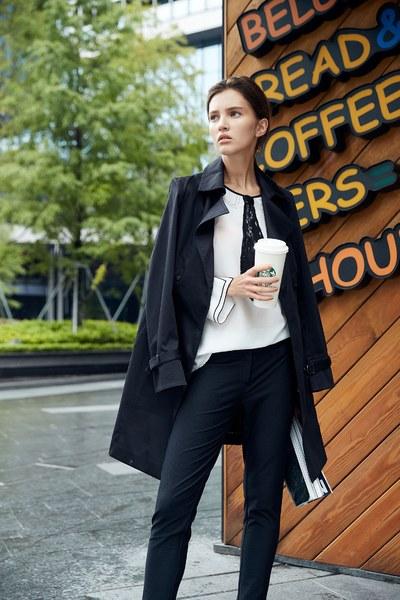 Urban style trench coat