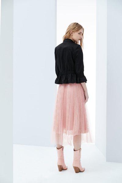 Lapel design coat