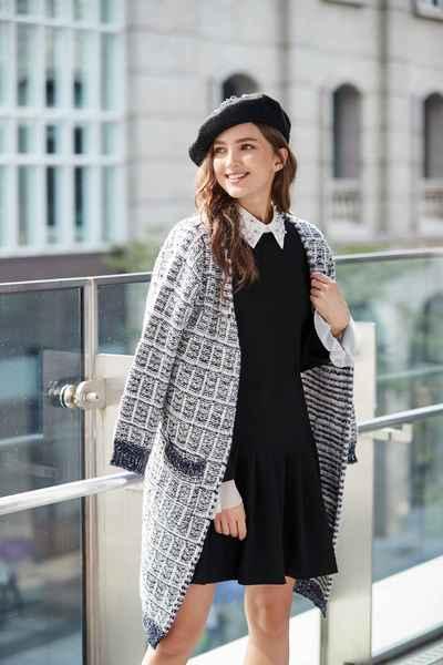 Elegant classic Hairy coat
