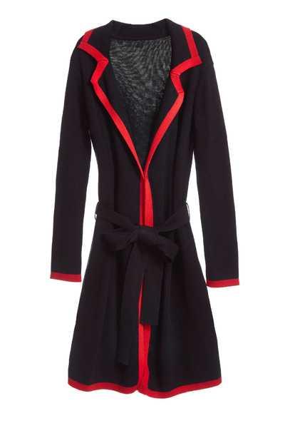 Classic coat with tie belt