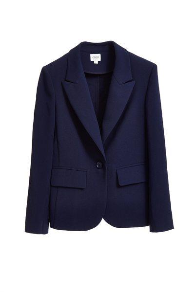 Simple shape blazer