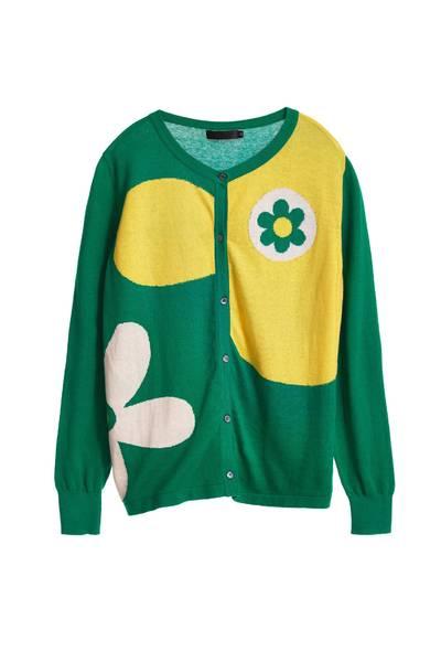 Flower design coat