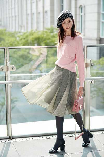 Elegant and classic long skirt