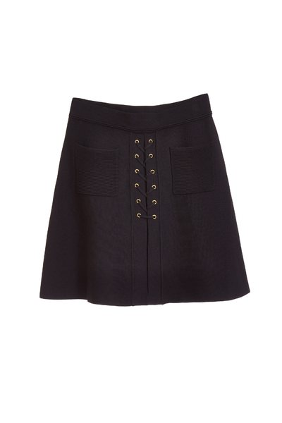 Cross strap design skirt