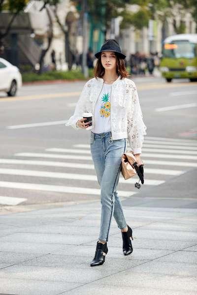 Side line jeans