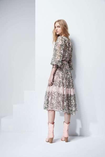 Grace floral lace dress