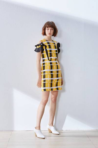 Eye-catching fashion dress
