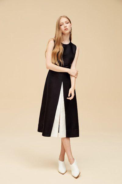Color matching dress