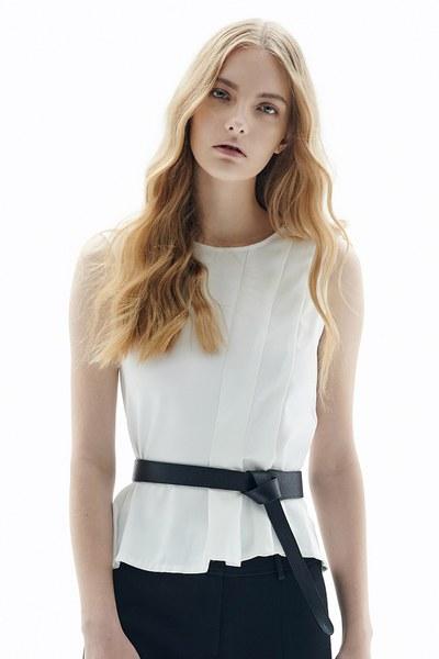 White design vest