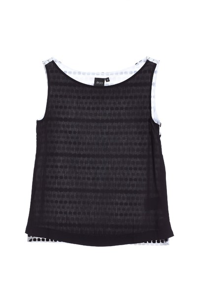 Designer textile spliced vest